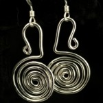 2011-3-2-Earrings-flat coiled sterling silver