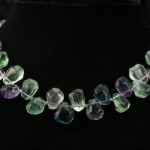 Necklace-Fluorite chunks