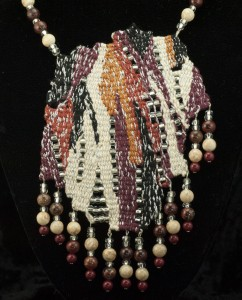 Canyon Wall Wash Woven Necklace_2