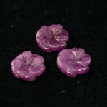 Carved Ruby flowers