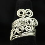 Ring-working design for spiraled ring