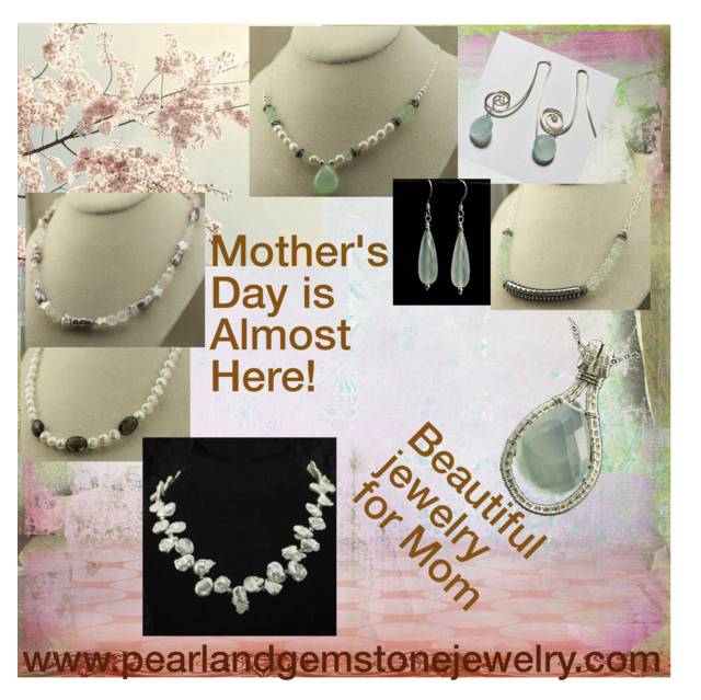 Pearls and gemstone jewelry from www.pearlandgemstonejewelry.com (pearl necklaces, gemstone necklaces, and gemstone earrings)