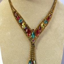 Juliana Style Necklace pk blue yellow