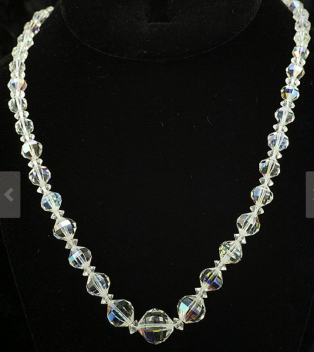 Shaped Crystal Necklace