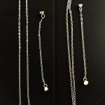 sterling silver chains and extenders