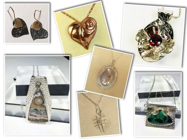 Silver and gemstone jewelry from Diana Kirkpatrick