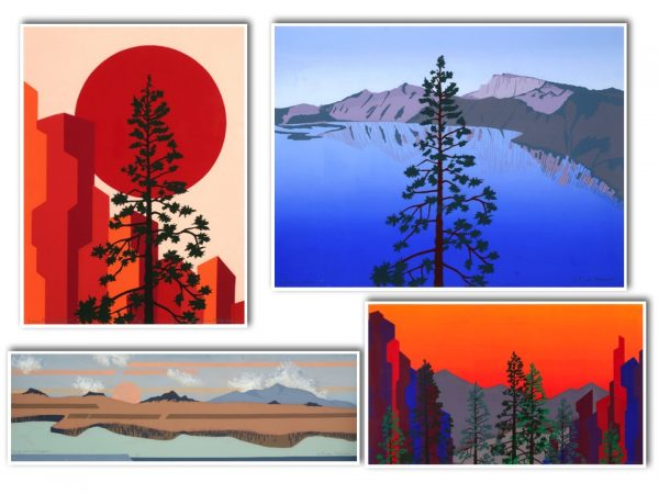 serigraphs by Gwen Peterson featured artist