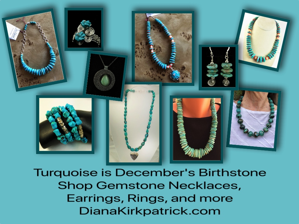 Turquoise is December's Birthstone