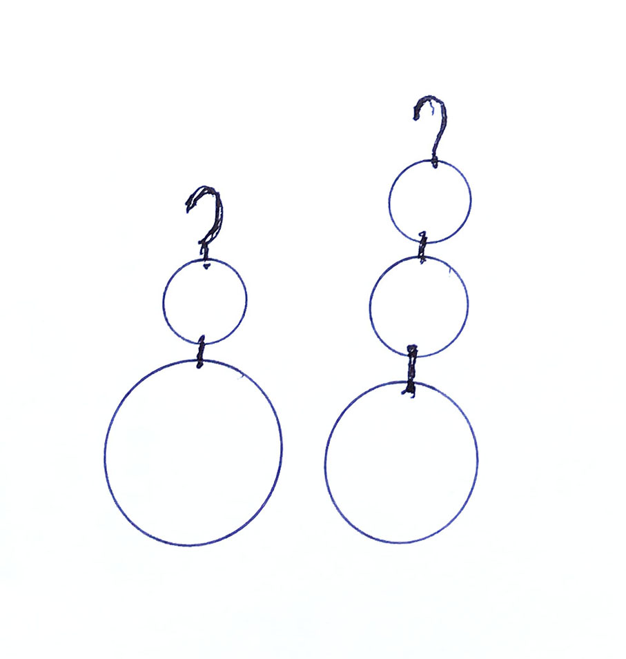 new Disc-O earring ideas