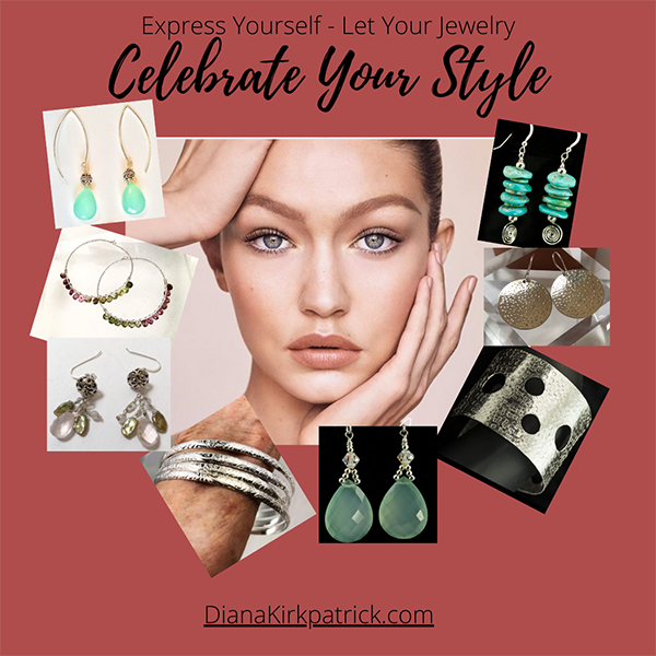 Celebrate your Style with silver and gemstone earrings and bracelets