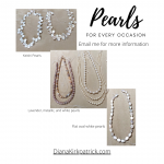 Pearls for every occasion