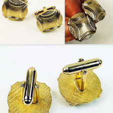 Anson cufflinks and tie tack